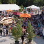 8月の夏休み期間3週間だけ誕生する仮設都市ミニ・ミュンヘン
